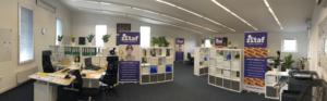 kancelář brněnské stavební firmy DVASTAF GROUP