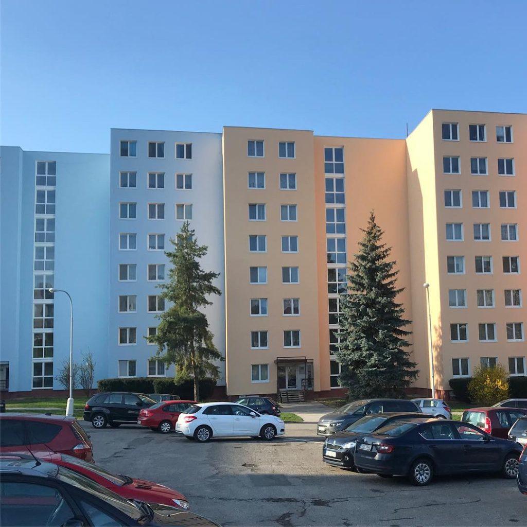 panelový dům revitalizace