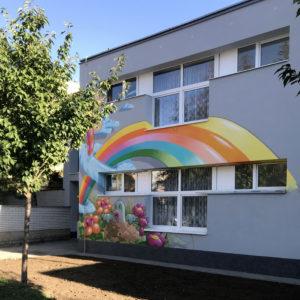 zatepleni fasady školy brno