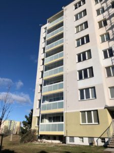 Balkony Hochmanova Brno