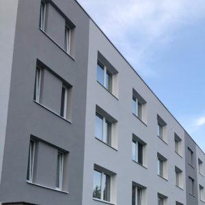 Zateplení bytového domu Letovice