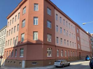 oprava fasády Spolková Brno